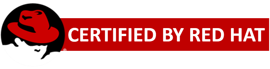 Certified by Red Hat